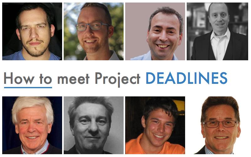 How to meet Project Deadlines
