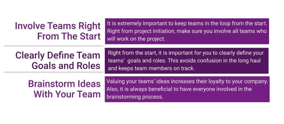 3 Ways to Improve Project Team Management