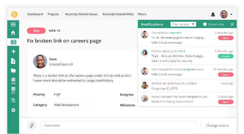 Backlog Project Management Tool