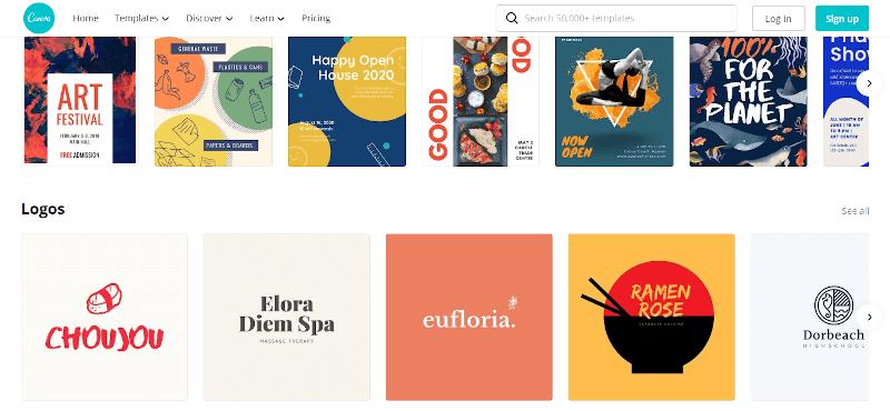 Canva-graphics designing tool