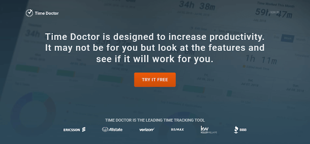 time doctor-time tracking tool