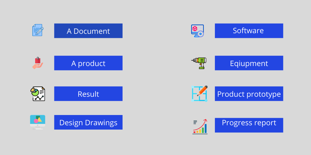 Project Deliverables Example