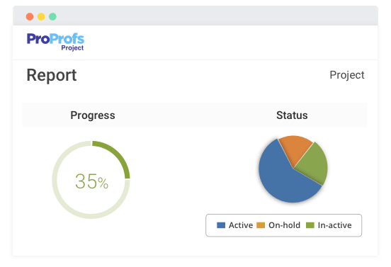 Generate Project report